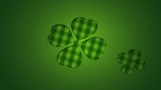 Green Pattern Flower Video Animation Motion Graphics Background Loop HD