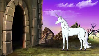 Fairy Tale Unicorn goes to the Castle