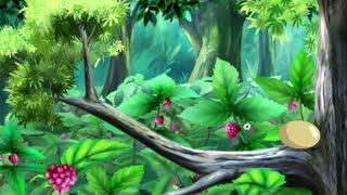 Green Caterpillar Hatching from Egg. Handmade Animation in UHD.