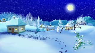 New Year and Christmas Time Motion Background