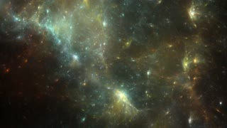 Animation of Space. Flying thru Stars. Beautiful Background Texture.