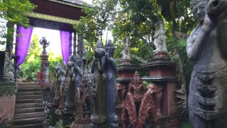 Asian Traditional Stone Sculpture Art and Culture in Thailand
