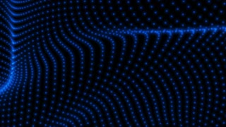 Blue particle background texture. 4K abstract  animation