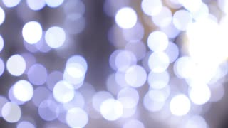 Bokeh Festive Background Lights. Christmas and New Year.