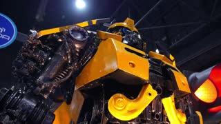 Bumblebee Transformer. Closeup.