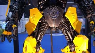 Closeup Transformer Bumblebee.