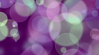 Colorful Bokeh Background. 4K animation