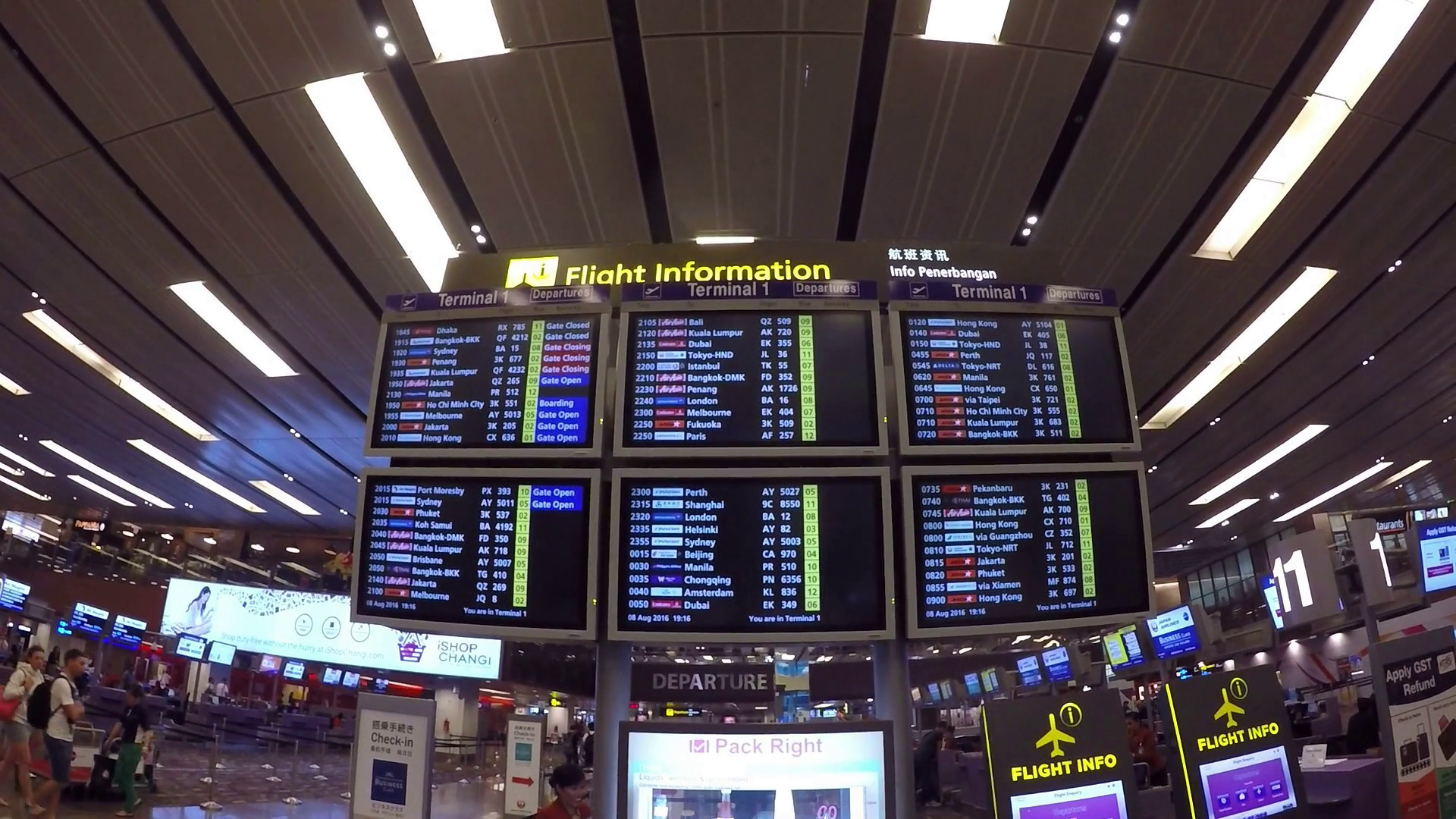 Flight Information and Schedule, Arrival, Departure at Airport Stock Video  Footage - Storyblocks