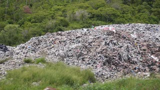 Garbage Dump Causes Environmental Pollution and Ecological Disaster