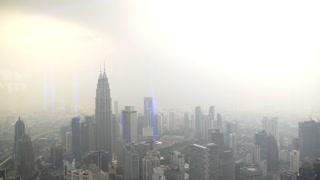 Kuala Lumpur, Malaysia - Aerial View of Сityscape