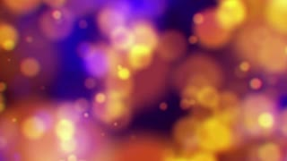 Light Circle Bokeh Background. 4K animation loop. abstract motion