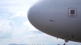 Nose of Plane. HD, 1920x1080.