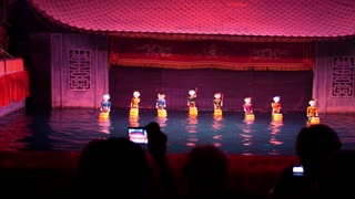 Traditional Vietnamese Water Puppetry Show in Hanoi