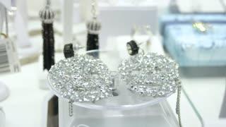 Diamond Jewelry In Window Display