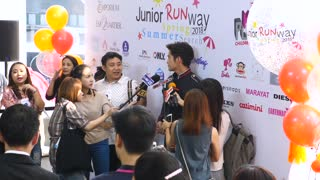 Journalists Doing The Interview With Celebrity People On Event.