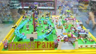 The Lego Toys In Toy Store.
