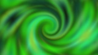 Abstract Green Vortex animation 4K and Full HD