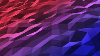 Color Changing Polygons | Low Poly | Seamless Looping Motion Background DCI 4K Ultra HD Full HD