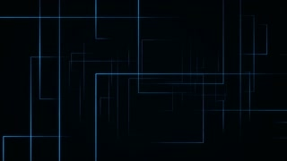 Dynamic Lines seamless looping background Blue 4K and Full HD