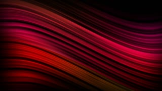 Elegant Colorful Curved Silk Lines Motion Background Ultra HD 4K and Full HD Red Maroon
