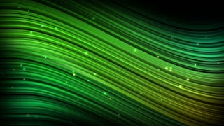 Elegant Colorful Curved Lines Soft Edges Motion Background Ultra HD 4K and Full HD Green