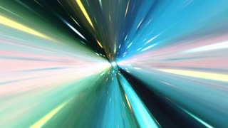 Faster Than Light Speed in Vacuum of Space | Time Vortex | Traveling Through a Portal Full HD 1920x1080 | Seamless Loop