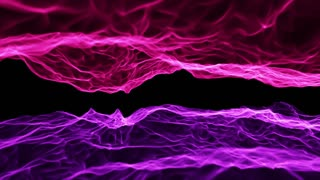 Fiery Flames Seamless Motion Background Pink Purple Violet