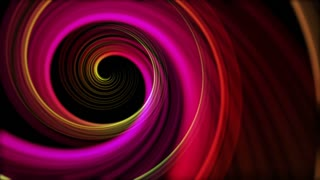 Spinning Artistic Spiral Abstract Motion Background Seamless Loop Full HD Pink