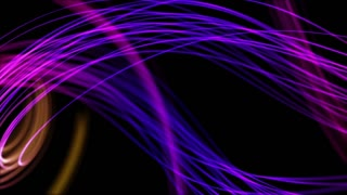 Wonderful Strings From Heaven Beautiful Colorful Looped Background Full HD Purple Blue Violet