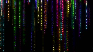 Glittering Particle Streaks Seamless Looping Motion Background Multicolor Multicolour