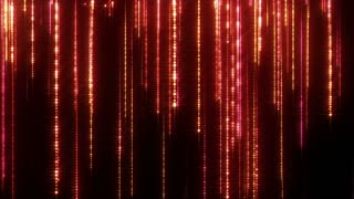 Glittering Particle Streaks Seamless Looping | Raining Glowing Glitter Particles Seamless Looping Motion Background Animated Video Backdrop Loop Red Pink Magenta
