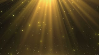 Heavenly Magical Rain of Twinkling Diamonds Beautiful Looped Motion Background 4K and Full HD Golden Yellow Gold