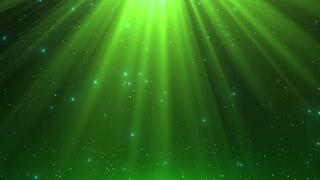 Heavenly Magical Rain of Twinkling Diamonds Beautiful Looped Motion Background (Old Version) 4K and Full HD Natural Green