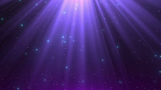Heavenly Magical Rain of Twinkling Diamonds Beautiful Looped Motion Background 4K and Full HD Purple Violet