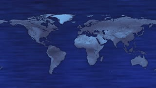 HUD Futuristic World Map 30 seconds without seamless Looping Motion Background Version 4