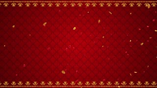 Indian Wedding theme Seamless motion background