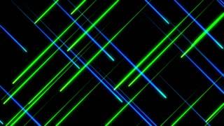 Metro Light Streaks Seamless Loop 4K Ultra HD Blue Green Crossing II