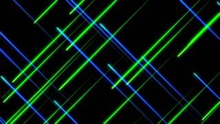 Metro Light Streaks Seamless Loop 4K Ultra HD Crossing Blue Green