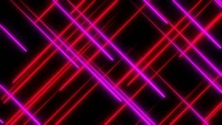 Metro Light Streaks Seamless Loop 4K Ultra HD Crossing II Pink Red Magenta