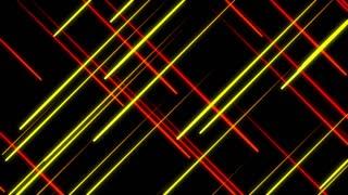 Metro Light Streaks Seamless Loop 4K Ultra HD Crossing II Red Yellow Orange