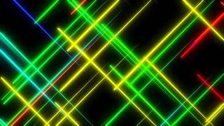 Metro Light Streaks Seamless Loop 4K Ultra HD Crossing Multicolor
