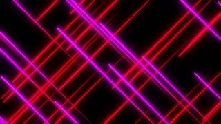 Metro Light Streaks Seamless Loop 4K Ultra HD Crossing Pink Red Magenta