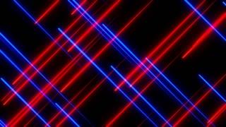 Metro Light Streaks Seamless Loop 4K Ultra HD Crossing Red Blue Purple