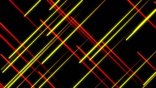 Metro Light Streaks Seamless Loop 4K Ultra HD Crossing Red Yellow Orange