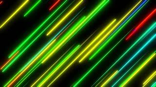 Metro Light Streaks Seamless Loop 4K Ultra HD Diagonal Multicolor