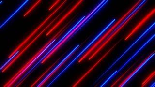 Metro Light Streaks Seamless Loop 4K Ultra HD Diagonal Red Blue Purple
