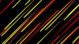 Metro Light Streaks Seamless Loop 4K Ultra HD Diagonal Red Yellow Orange