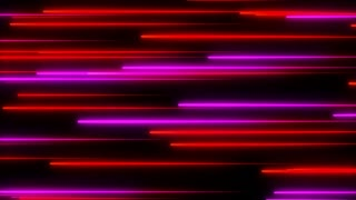 Metro Light Streaks Seamless Loop 4K Ultra HD Horizontal II Pink Red Magenta