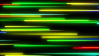 Metro Light Streaks Seamless Loop 4K Ultra HD Horizontal Multicolor
