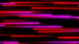 Metro Light Streaks Seamless Loop 4K Ultra HD Horizontal Pink Red Magenta
